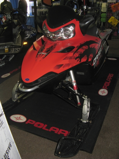 2010 Polaris Dragon RMK snowmobile