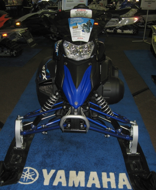 2010 Yamaha Phazer MTX front view