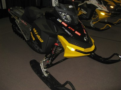 Ski-Doo 2010 Summit X-RS side view