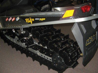 Ski-Doo 2010 Summit X-RS rear suspension & track