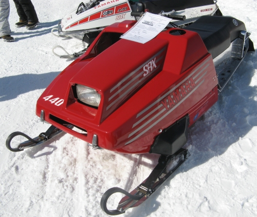 1977 Yamaha SRX snowmobile