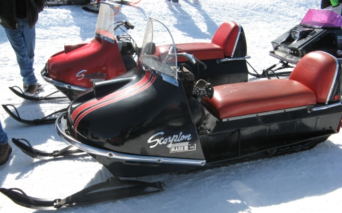 Scorpion Snowmobile