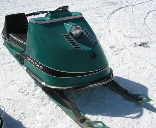 Skiroule snowmobile (year - 1972?)