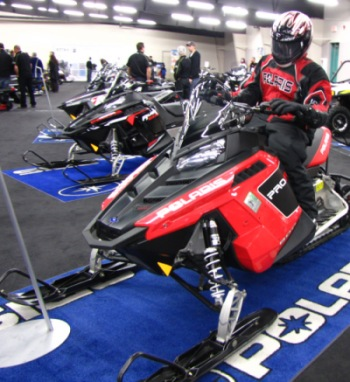 Polaris 2011 800 Pro-R snowmobile