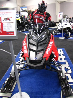 Polaris 2011 800 Pro-R snowmobile - photo taken at 2010 preview